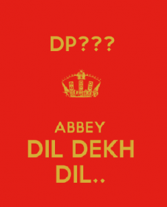 Attitude DP in Hindi